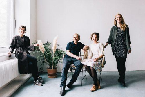 FOTOTREFF Berlin Team von 2019, v.l.: Charlotte Schmid, Tobias Laukemper, Pauline Friesecke, Vanya Pieters; Foto (C) Tobias Kruse