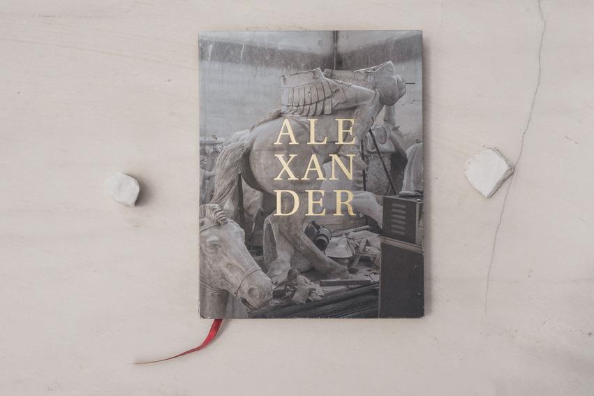 Alexander, photobook by Michał Siarek